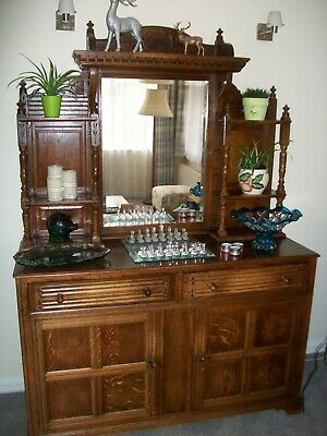 Antique Dresser Sideboard With Mirror Good Condition