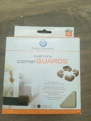 Prince Lionheart Cushiony Corner Guards Grey - Table Edge Guards - Pack of 4