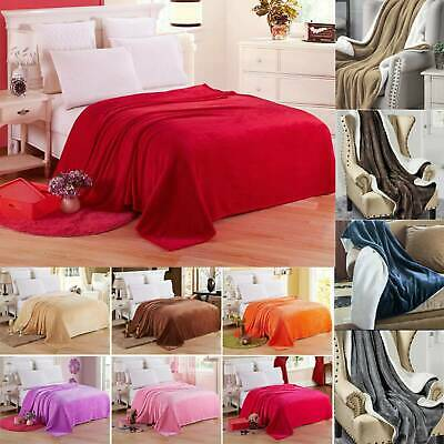 Faux Fur Soft Shaggy Thick Pile Rugs Rug Ultra Carpet Bedroom Bed Cover Blanket