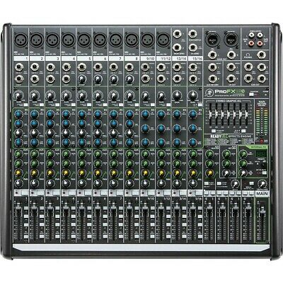 Mackie ProFX16v2 16-Channel 4-Bus FX Mixer with USB LN