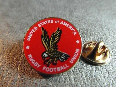 Rare Pins Pin's - United States Of America - Rugby Football Union - Aigle N° 32