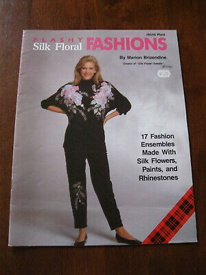 Flashy Silk Floral Fashions: Book no.#8546: Plaid: 1990: 17 Fashion Ensembles