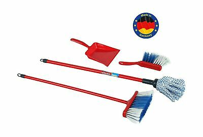 Theo Klein 6706 Siva ''Broom Set Vileda with Mop 4 Pcs. '', Multi-Colored .
