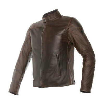 Dainese Mike Pelle Leather Motorcycle Jacket