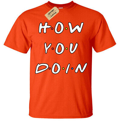 Kids Boys Girls How you doin T-Shirt Funny Friends joey quote