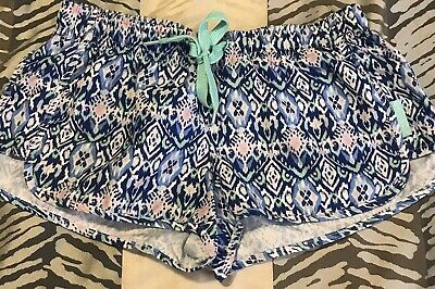 Girls Ghanda Clothing Colourful Print Shorts Size 9 / 10 Excellent Condition