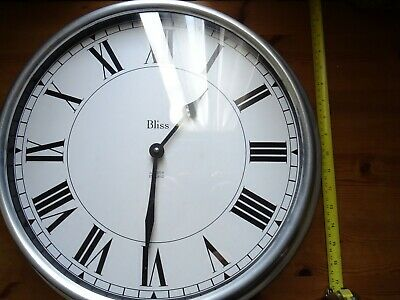 large kitchen wall clock Made in England by Alcester.. Quartzs movement