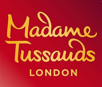 TWO MADAME TUSSAUDS LONDON TICKETS SUNDAY 15th DECEMBER 2019 12:15