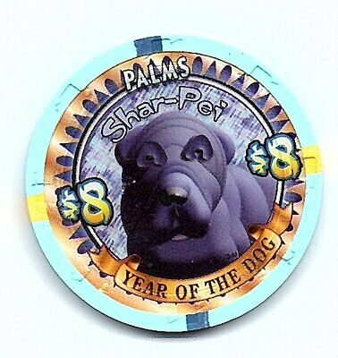 palms year of the dog 8.00 chip