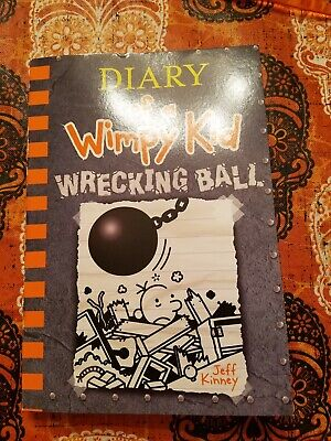 Diary Of A Wimpy Kid Wrecking Ball book softcover