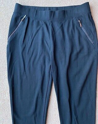 NEW LOOK black smart/casual trousers ~ UK size 14