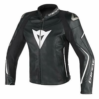Dainese Assen Perforated Leather Motorcycle Jacket