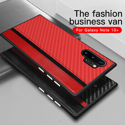 For Samsung Galaxy Note 10 Plus S10 S9 S8 Shockproof Texture Hybrid Case Cover