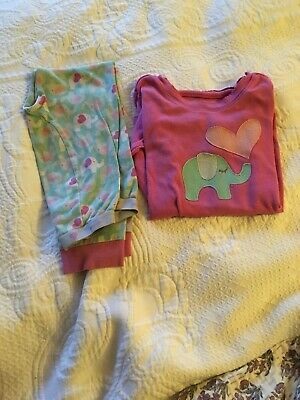 Girls Baby Gap Pjs Age 5 Pink