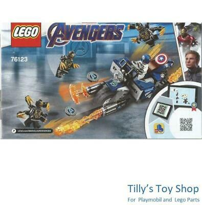 Outriders Attack 76123 Lego Avengers Captain America BNIB Brand new sealed