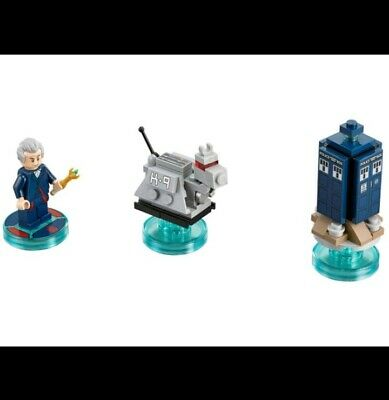 New Lego Dimensions Doctor Who Level Pack TARDIS K-9 No Box 71204 No Box