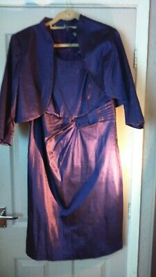 Mother Of The Bride/Groom Outfit By Joanna Hope. Purple size 18.