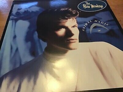 "The Blow Monkeys - Animal Magic 12"" LP RCA records EX/EX"