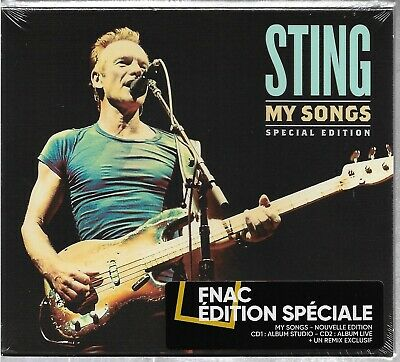 2Cd Sting - My Songs - Special Edition [French Exclusive Ed With Bonus Tracks]
