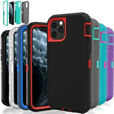 12 Shockproof Defender Hybrid Hard Case Wholesale Lot For Apple iPhone 11Pro Max