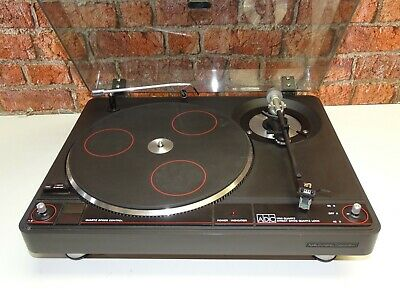 ADC 1700 Quartz Direct Drive Vintage Vinyl Turntable Record Player Deck