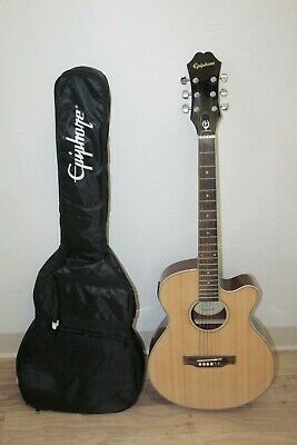 Epiphone PR-4E NA 6 String Acoustic Electric Guitar w/ Gig Bag *LOCAL* *READ*