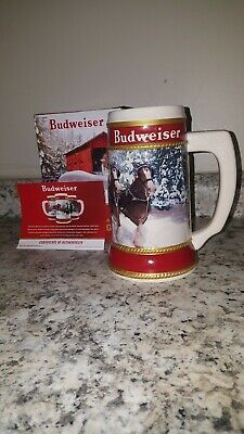 "2019 Budweiser Holiday Stein ""Winter Passage"" 40th Anniversary Edition"
