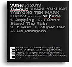 SuperM The 1st Mini Album SuperM [TAEMIN Ver.]