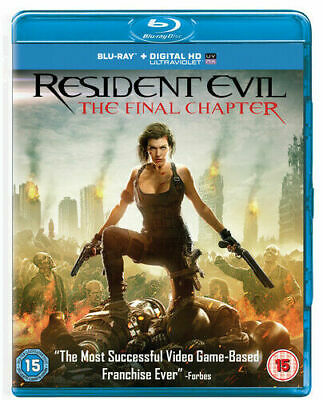 Resident Evil The Final Chapter (2 Disc Edition) - BLU RAY!!!!