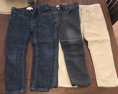 Boys WITCHERY size 2 Jeans Chinos X 3 - Excellent New Condition