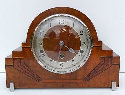 Art Deco Haller Walnut Westminster & Whittington Chimes