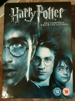 HARRY POTTER The Complete 8 Film Collection 8 Disc Box Set