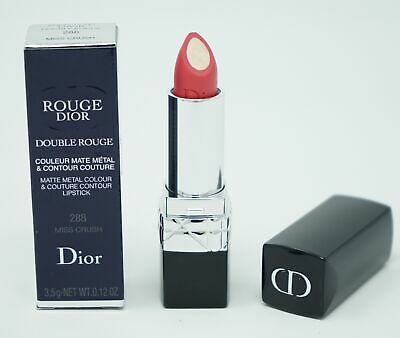 Dior Rouge Double Rouge Matte 288 Miss Crush