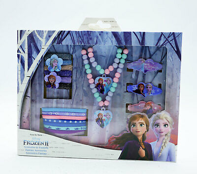 Disney Frozen 2 Girls Jewellery and Hair Accessory Set Lovely Christmas Gift