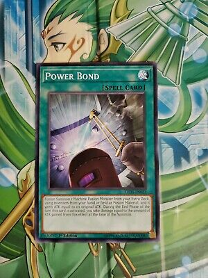 Power Bond RYMP-EN062 1st Common M//NM Yugioh