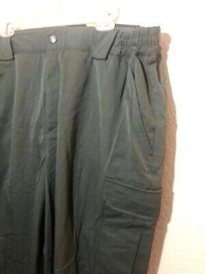 NWT New 5.11 Tactical Womens Pants Forest Green Cargo Size 24