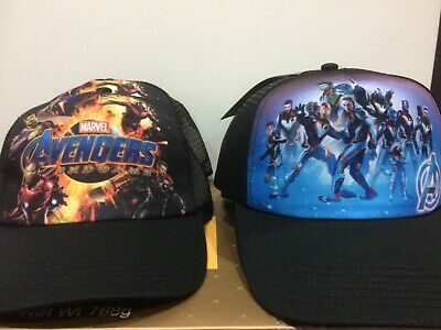 4X NWT AVENGERS MARVEL CAP Hat BASEBALL STYLE Party Birthday