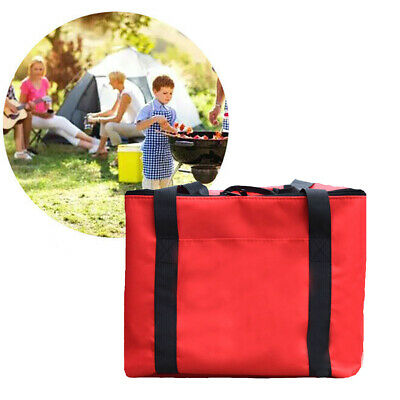 Durable Waterproof Pizza Delivery Bag Takeaway Food Storage Zipper Insulated