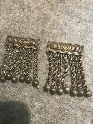 Vintage Masonic Freemason Apron Tassels Pair Of No4