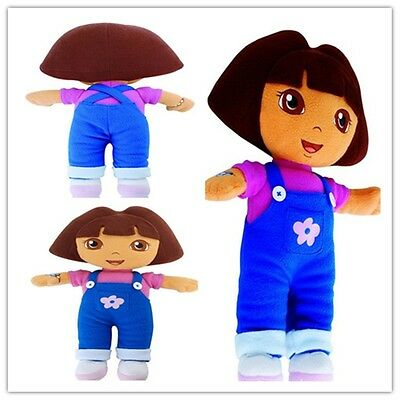 DORA THE EXPLORER Girls Soft Cuddly Stuffed Plush Doll Kids Toy Great Present