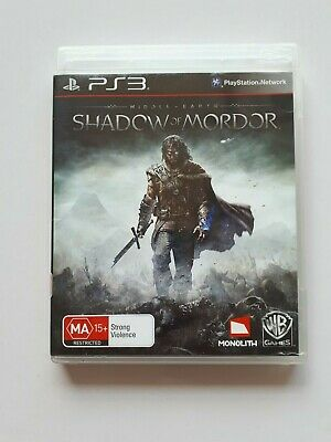 Middle-earth: Shadow of Mordor  PS3  *  Sony PlayStation 3 Game