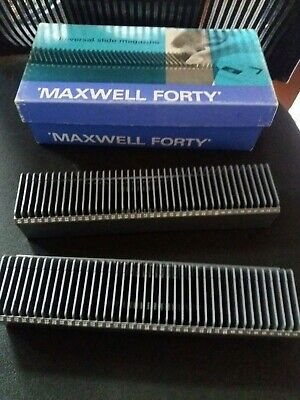 MAXWELL FORTY Universal  Slide Magazines in Box 40 x 2
