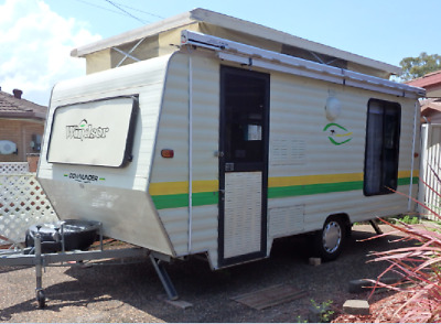 """Windsor 16'6""""  5 Berth Caravan with 6mths Rego, Awning/Annexe, Top Condition"""