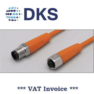 IFM  EVT044 M12 Straight/Straight 5 Pin 5m PVC Sensor Extension Cable 000299
