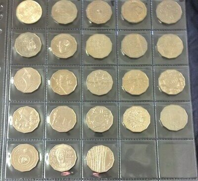 1966 To 2019 Fifty Cent - *Commemorative Issue Set* - 23 Coins - Uncirculated