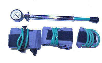 Manual Pneumatic Tourniquet System 3 Cuff With Bag