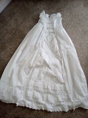 Vintage Victorian Childs Nightdress. Stunning