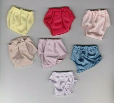 Doll Clothes-Seven Pretty Panties that fit Barbie-Homemade N1 4