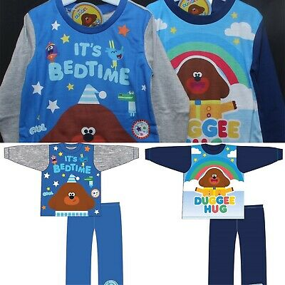 Boys HEY DUGGEE Pyjamas/Cotton PJs in 2 Style Choices Sizes 18 months-5 years