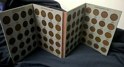 1911 To 1964 Penny Collection - Includes 1925 & 1946 Penny - In Dansco Album